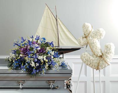 Sail Away Sympathy Package