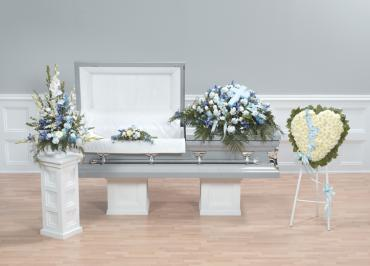 Blue and White Sympathy Package