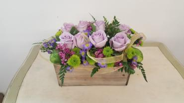 Lavender Rose Box