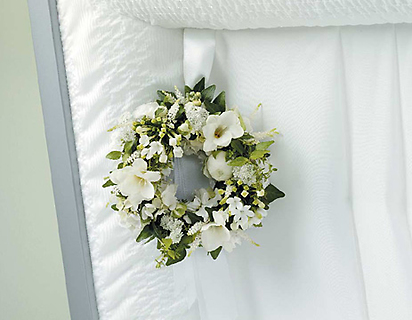 Small Wreath Lid Decoration