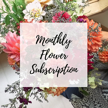 Monthly Flower Subscription